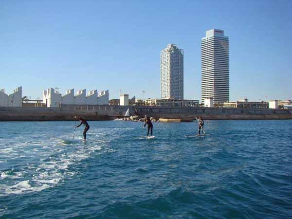 paddle barcelona